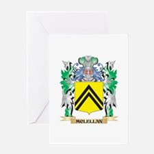 Mclellan Coat of Arms - Family Cres Greeting Cards