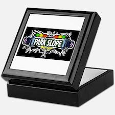 Park Slope (Black) Keepsake Box