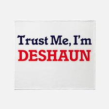 Trust Me, I'm Deshaun Throw Blanket
