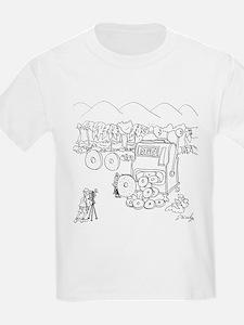 Slot Machine Cartoon 9300 T-Shirt