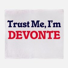 Trust Me, I'm Devonte Throw Blanket