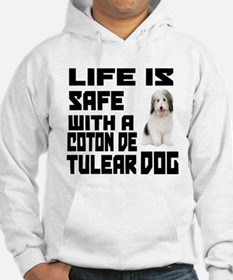 Life Is Safe With A Coton De Tul Hoodie