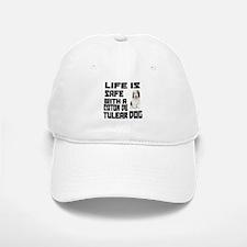 Life Is Safe With A Coton De Tulear Baseball Baseball Cap