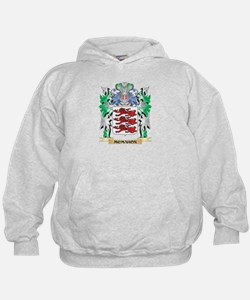 Mcmahon Coat of Arms - Family Crest Hoodie