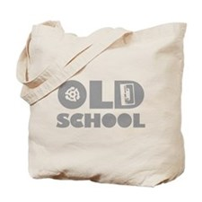Old School (Distressed) Tote Bag