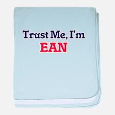 Trust Me, I'm Ean baby blanket