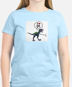 T-Rex Loves Occupational Therapy T-Shirt
