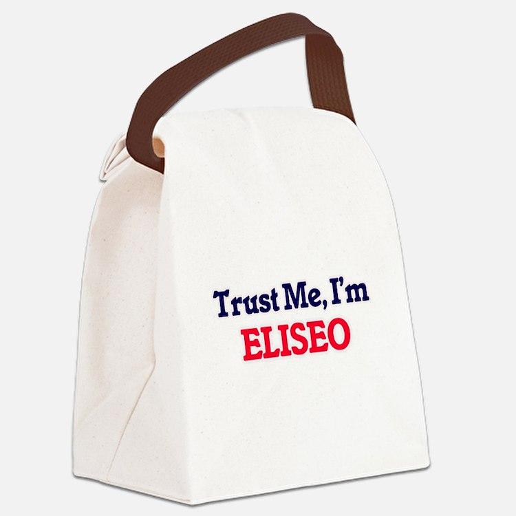 Trust Me, I'm Eliseo Canvas Lunch Bag