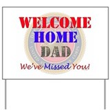 Military welcome home marine Yard Signs