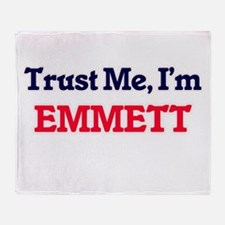 Trust Me, I'm Emmett Throw Blanket