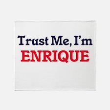 Trust Me, I'm Enrique Throw Blanket