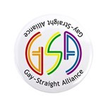 "GSA Neon 3.5"" Button (100 pack)"