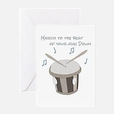 Drum Greeting Card