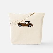Brown Morgan Car Cartoon Tote Bag