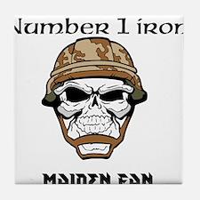 #1 Iron Maiden Fan Tile Coaster