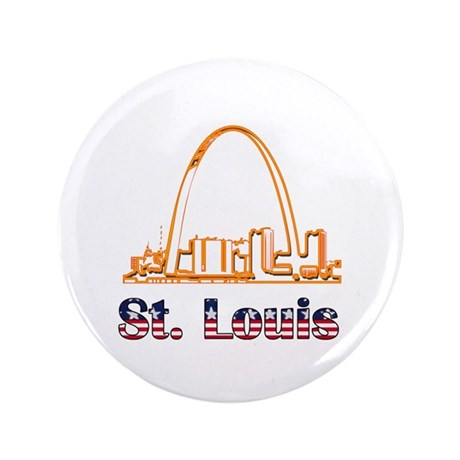 "Gateway Arch 3.5"" Button (100 pack)"