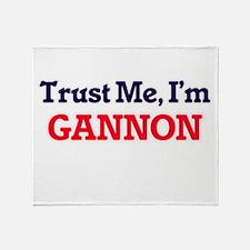 Trust Me, I'm Gannon Throw Blanket