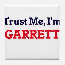 Trust Me, I'm Garrett Tile Coaster
