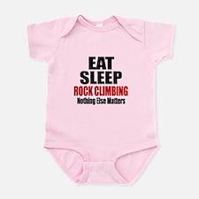 Eat Sleep Rock Climbing Infant Bodysuit