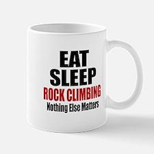 Eat Sleep Rock Climbing Mug