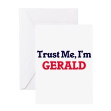 Trust Me, I'm Gerald Greeting Cards