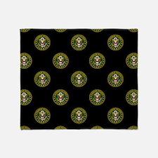 U.S. Army: Circle Symbol (Black) Throw Blanket