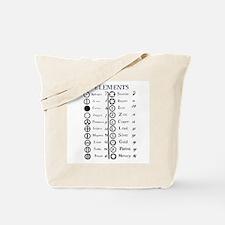 Dalton's Elements Tote Bag