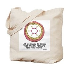Kekule Benzene Dream Tote Bag