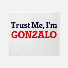 Trust Me, I'm Gonzalo Throw Blanket