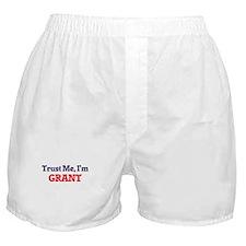 Trust Me, I'm Grant Boxer Shorts