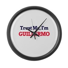 Trust Me, I'm Guillermo Large Wall Clock