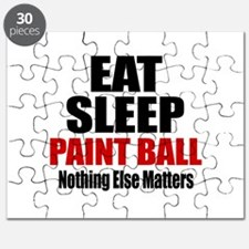 Eat Sleep Paint Ball Puzzle