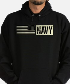 U.S. Navy: Military Black Backwards Flag Hoody
