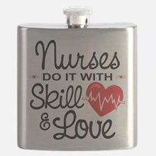 Funny Nurse Flask