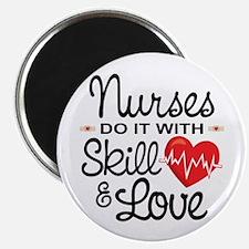 Funny Nurse Magnet
