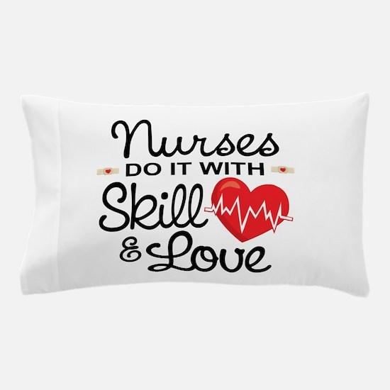 Funny Nurse Pillow Case