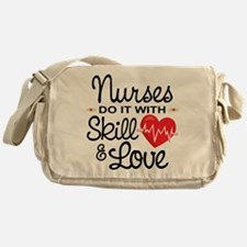Funny Nurse Messenger Bag