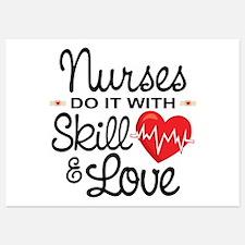 Funny Nurse 5x7 Flat Cards