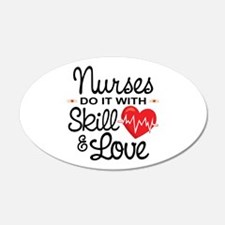 Funny Nurse Wall Decal