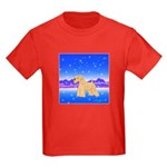 Soft Coated Wheaten Terrier Kids Dark T-Shirt