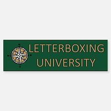 Letterboxing University Bumper Bumper Bumper Sticker