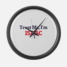 Trust Me, I'm Isaac Large Wall Clock