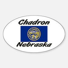 Chadron Nebraska Oval Decal