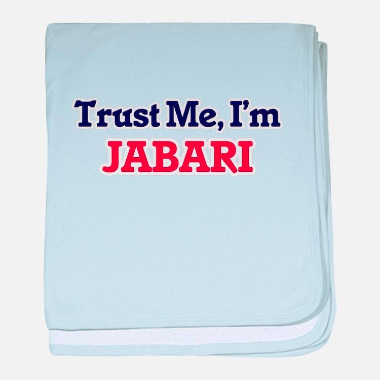 Trust Me, I'm Jabari baby blanket