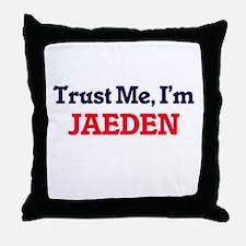 Trust Me, I'm Jaeden Throw Pillow