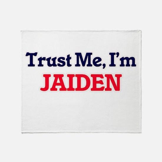 Trust Me, I'm Jaiden Throw Blanket