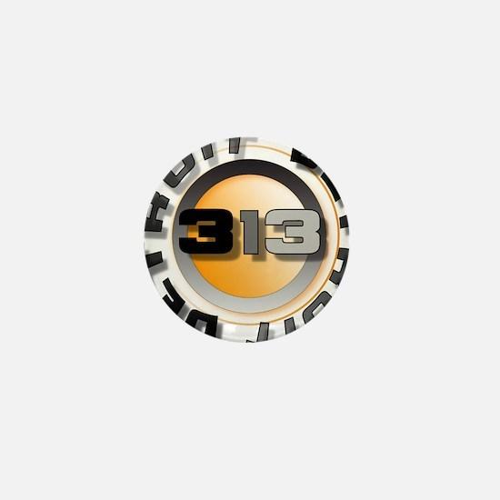 Cute 313 Mini Button