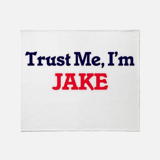 Trust Me, I'm Jake Throw Blanket