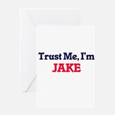 Trust Me, I'm Jake Greeting Cards