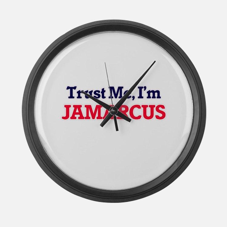 Trust Me, I'm Jamarcus Large Wall Clock